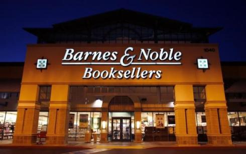 A Barnes & Noble book store is seen in Encinitas, California