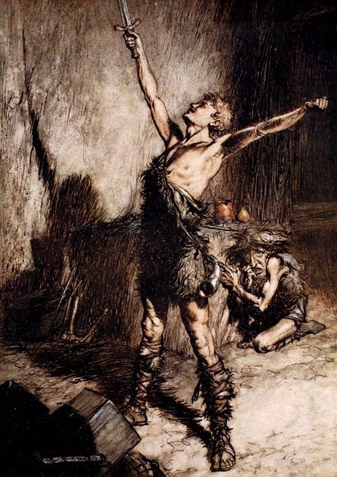 Siegfried-illustration-printing-Nibelungenlied